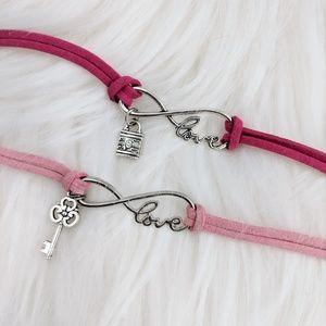Jewelry - Lock & Key Best Friends Bracelet Set of 2